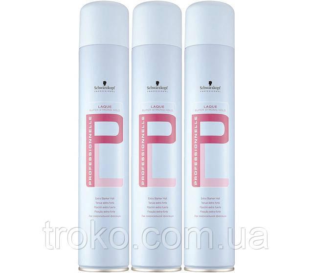 Schwarzkopf Professional Лак для волос суперсильной фиксации