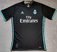 Футболка Реал Мадрид сезон 2017-2018 (черная)