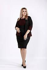 Новинка! женский деловой костюм супер батал большие размеры 42-74, фото 3