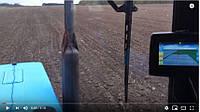 Работа МТЗ 82.1 в паре с навигацией HEXAGON. Внесение удобрений. Видео
