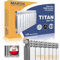 Биметаллический радиатор TITAN