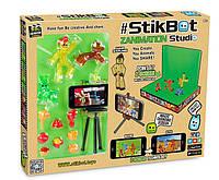 Игровой набор для анимационного творчества Stikbot Pets - Студия Z-Screen 1 стикбот+ 2 стикпета + штатив, фото 1