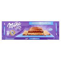 Шоколад Milka Choco&Wafer 300г