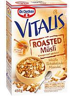 Мюсли Dr.Oetker Vitalis миндаль с белым шоколадом, 450 г.