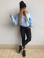 """Вязаный женский свитер """"Мыс"""", в расцветках, фото 1"""