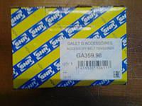 Натяжной ролик, поликлиновой ременьGA359.98: PEUGEOT,CITROEN,FIAT (Пр-во NTN-SNR)