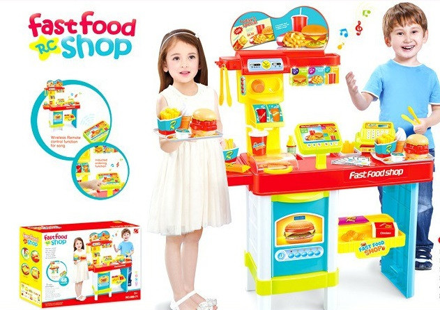 Детский игровой магазин Fast food 889-72
