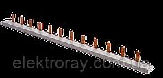 Гребенчатая шина 1П 12 модулей Schneider (гребенка)