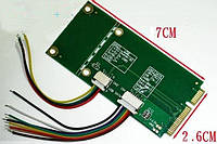 Адаптер Mini PCI-e PCI Express -> SATA/USB Adapter (USB/SATA TO PCI-E) EEPC 901, 900...