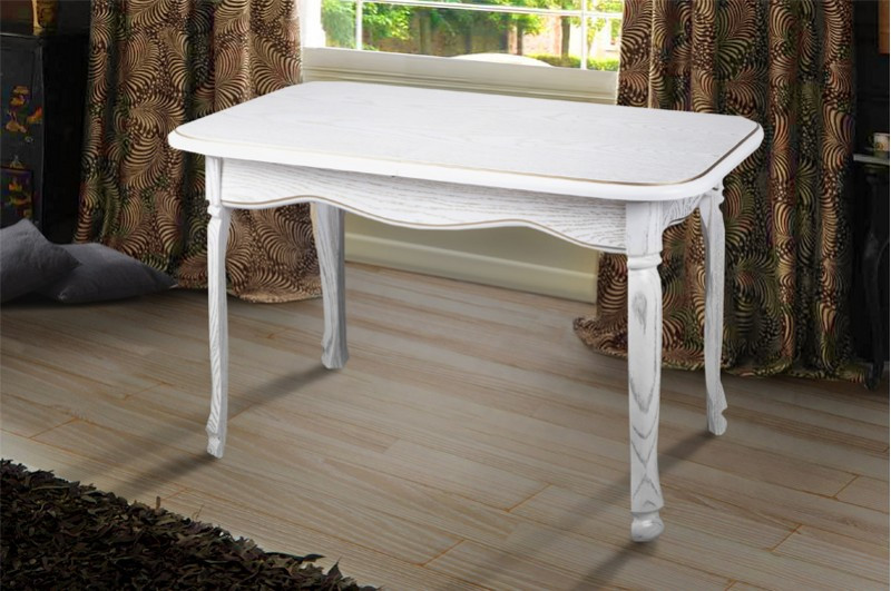 Обеденный стол ГАИТИ 120 белый