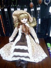 Кукла фарфоровая коллекционная 50см