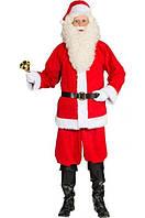 Новогодний Костюм Деда Мороза Санта Клауса Santa для Атмосферы Нового Года Рождества