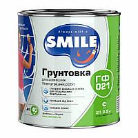 Грунт Smile ГФ-021 Белый, 2,8 кг