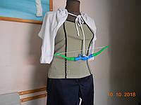 """Карнавальный костюм женский """"Купидон"""" в белой накидке, с луком и стрелами, Kaprizz, фото 1"""