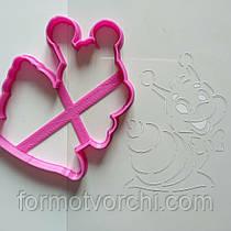 """3D формочки-вырубки для пряников """"Улитка 2"""""""