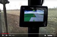Боронование кукурузы и испытание курсоуказателя HEXAGON Ti5 (Видео)