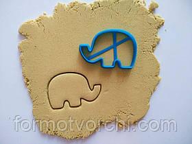 """3D формочки-вырубки для пряников """"Слон"""""""