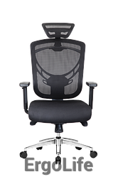 Офісне крісло I-VINO SO-12D Black