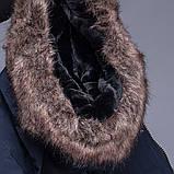Чоловіча зимова куртка, чорного кольору., фото 9
