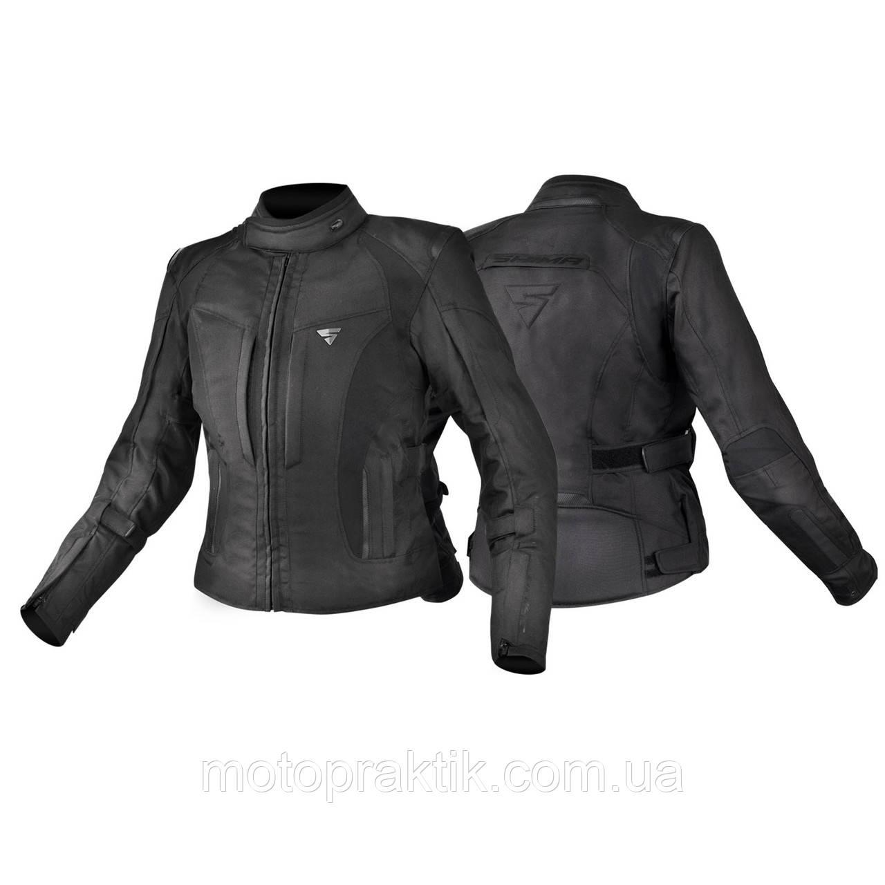 Shima Volante Lady Jacket, Black, XS, Мотокуртка текстильная женская
