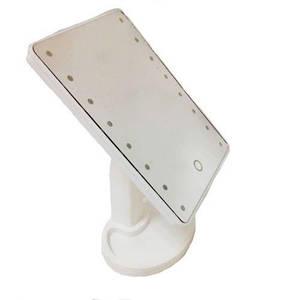 Зеркало для макияжа Magic Makeup Mirror R86667 с LED-подсветкой, белое