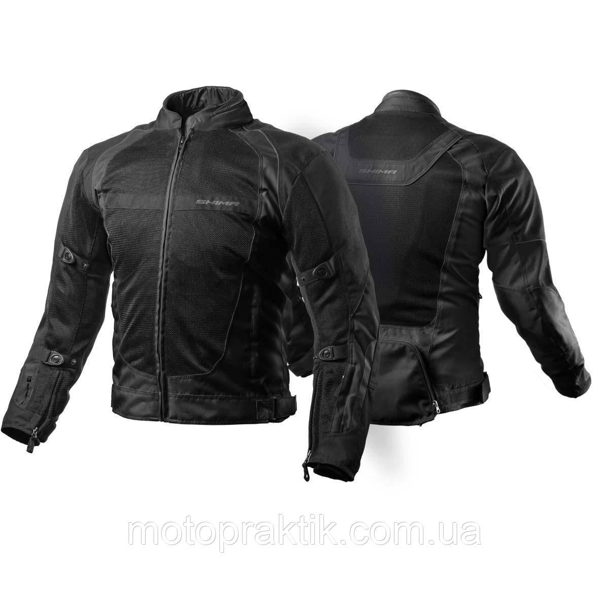 Shima X-Mash Textile Jacket, Black, S Мотокуртка текстильная летняя