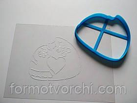 """3D формочки-вырубки для пряников """"Семья котиков"""""""