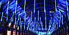 Внутренняя Светодиодная Гирлянда Тающие Сосульки LED 50 см Бегущая Капля Синий, фото 8