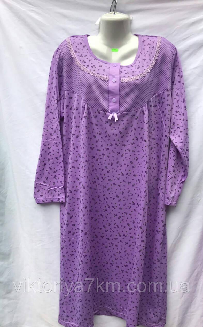 "Ночная рубашка байке (50-60 р.) ""Kandy"" RS2-1718"