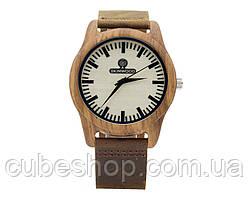 Деревянные наручные часы Zebra