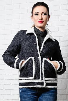 Чорна коротка куртка - Стріт -