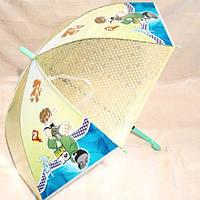 Парасолька дитяча 47-EVA-3D, діаметр купола 75см, Бен 10, Сусіди ведмеді, фото 1