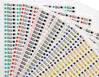 """Индикаторы внутренние 134/5 контроля паровой стерилизации """"Бел-Медикон"""" 1000 шт."""