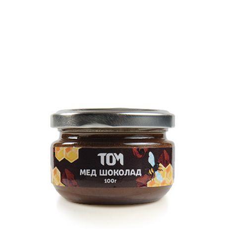 Мед натуральный ТОМ - Шоколад (100 грамм)