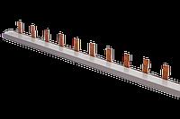 Гребенчатая шина 1П 1 метр Schneider (гребенка)