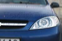 "Chevrolet Lacetti хэтчбек  - установка би-ксеноновых линз Moonlight G6/Q5 3,0"" D2S H4 в фары"