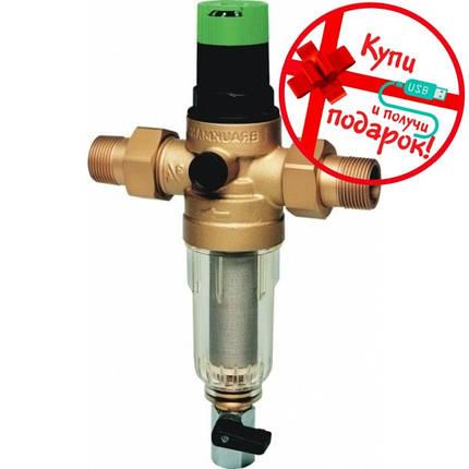 "Фильтр Honeywell FK 06 1/2"" AA с регулятором давления + Подарок, фото 2"