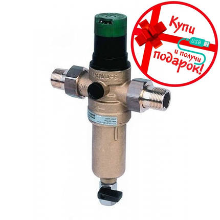 Механический фильтр для горячей воды с редуктором Honeywell FK06- 1/2AAM, фото 2