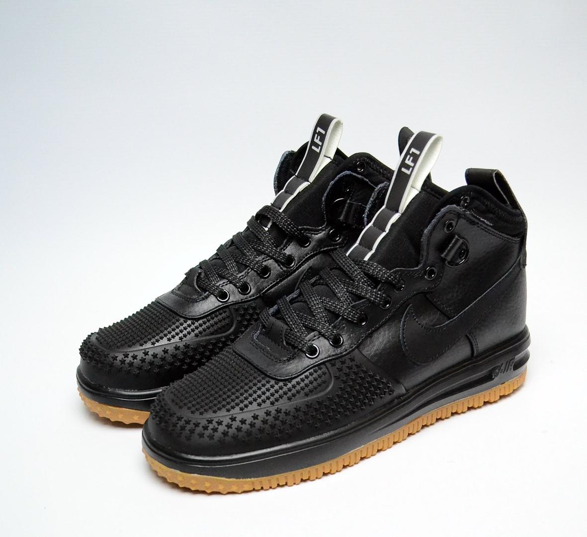 db23132a Зимние мужские кроссовки Nike Air Lunar Force Duckboot Black ...