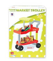 Детская тележка из супермаркета 14053 с продуктами, фото 2