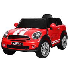Электромобиль р/у, 2,4G, 2 мотора, 2 аккум.6V7A, кож.сид., колеса ЕВА, USB, MP3, красный(1шт)