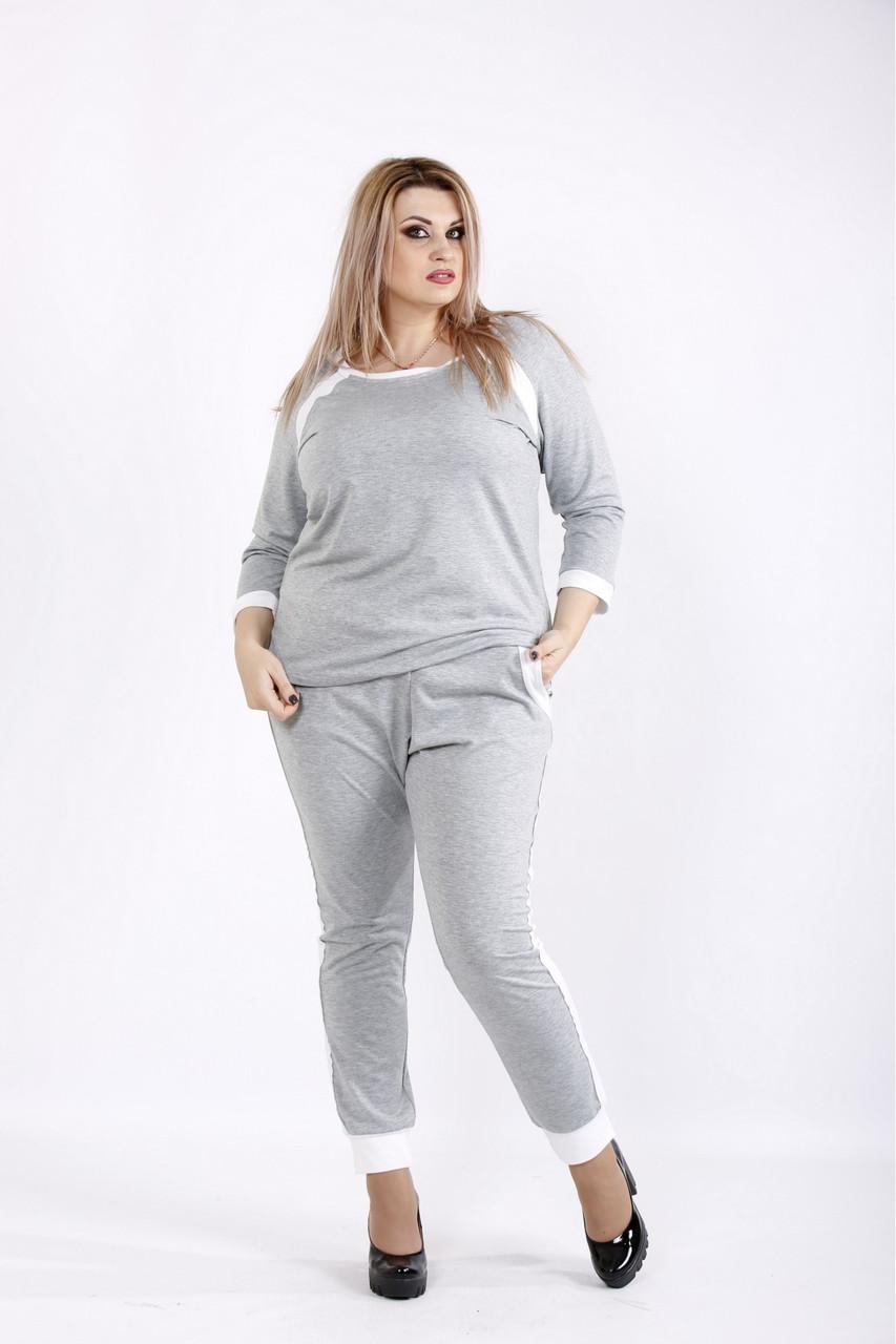 Спортивный женский костюм большие размеры:42-74