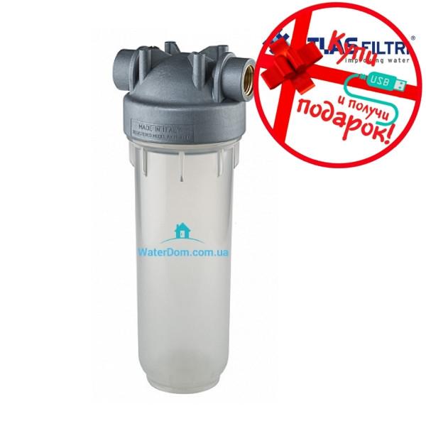 """Фильтр для холодной воды Atlas Filtri DP 10 MONO 1"""" OT SANIC"""