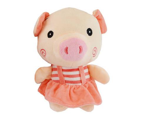 Брелок Свинка в костюме средняя