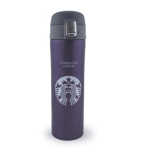 Термос Starbucks coffee (Старбакс кофе) 480 мл, фиолетовый