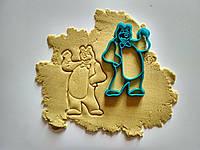 """3D формы-вырубки для пряников""""Медведь"""""""
