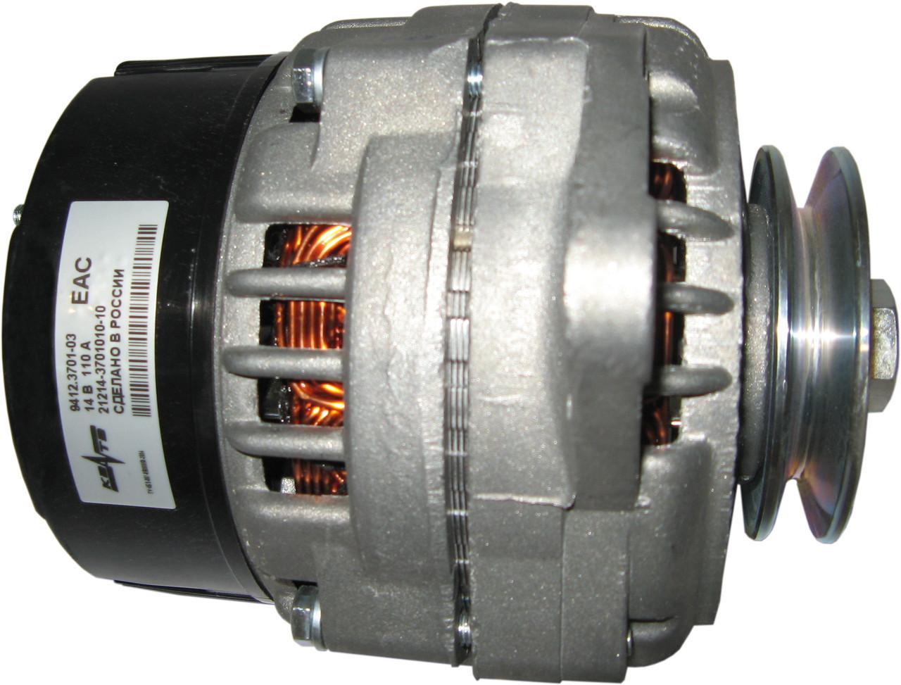 Генератор ВАЗ 21214, 2123 100 А. (под клиновой ремень, с нижн.расп.двиг.)