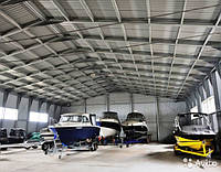 Сезонное хранение лодок, катеров, яхт, гидроциклов