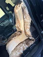 Авточехол на сиденье из овечьей шкуры 3