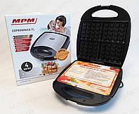 Вафельница MPM MGO-22M  мощностью 1300 Вт, фото 1
